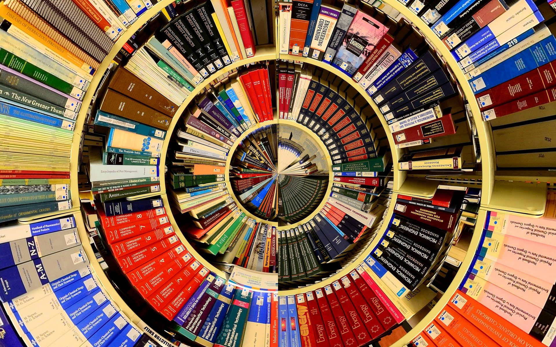 Books in Disc Arrangement
